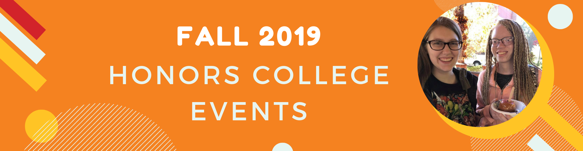Fall 2019 Honors Events