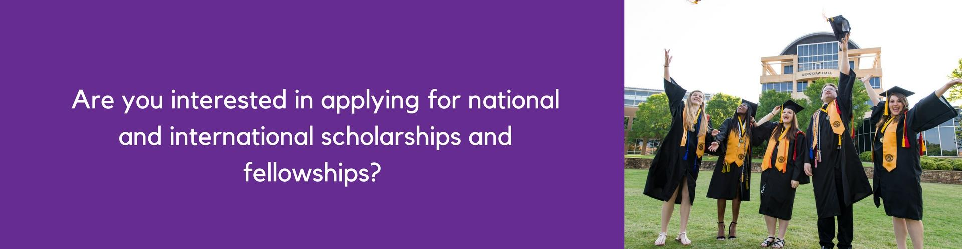 Scholarship and Fellowship Advising